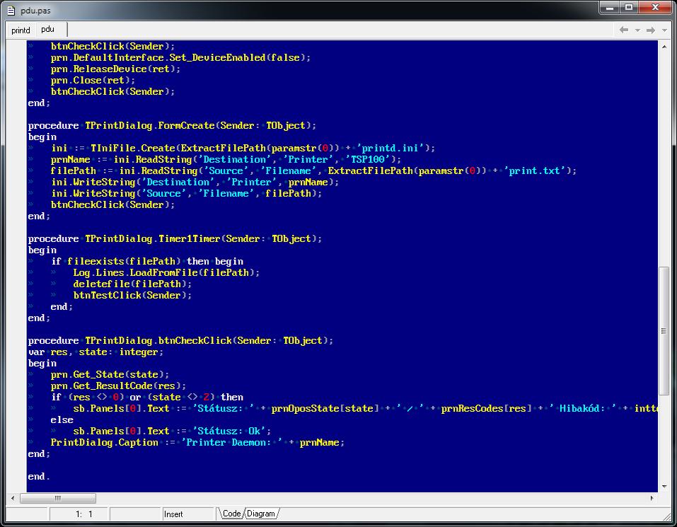 Classic Console TrueType Font - ASCII 8x16 Reproduction